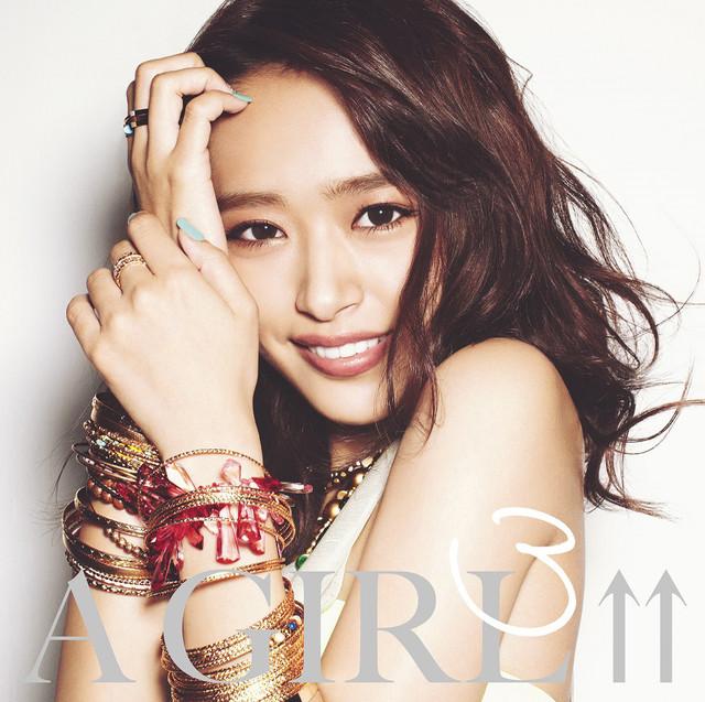 「A GIRL↑↑3 mixed by DJ和」ジャケット