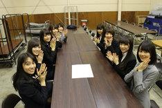 スーツの名前を決める会議を開いた乃木坂46。(c)乃木坂46LLC