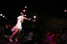 「Yufu Terashima 1st Solo Live #Yufu Flight」の様子。