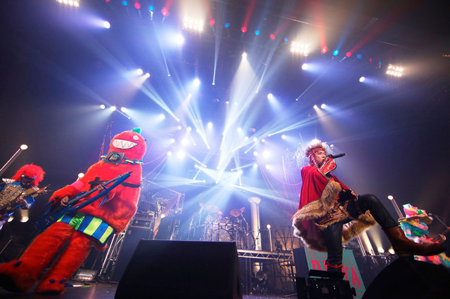 Psycho le Cemu「Psycho le Cemu 15th Anniversary Live TOKYO PARALLEL WORLD『~はじまりの奇跡~』」東京・豊洲PIT公演の様子。