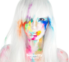 Superfly「WHITE」初回限定盤ジャケット