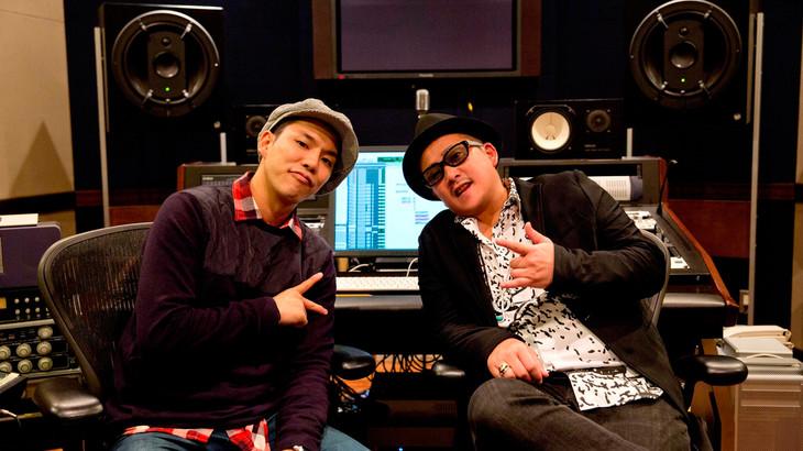 左からTEE、RYOJI(ケツメイシ)。