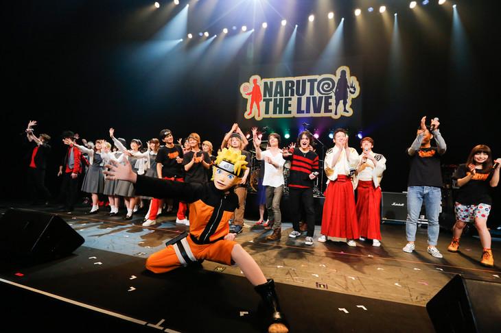 「NARUTO THE LIVE vol.0」の様子。(Photo by hajime kamiiisaka)