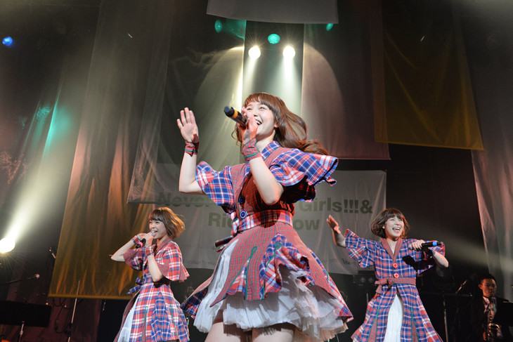 「Negicco First Tour『Never Give Up Girls!!!&Rice&Snow』」東京公演の様子。