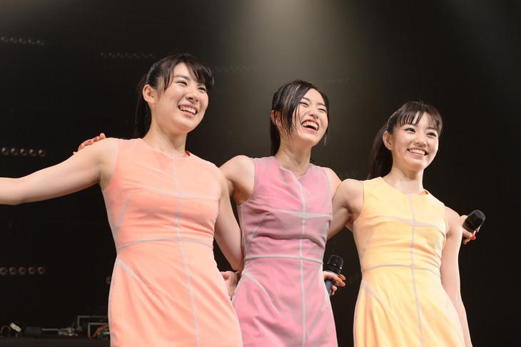 東京・TSUTAYA O-EASTで行われたワンマンライブ「callme Live Performance『To shine』」の様子。