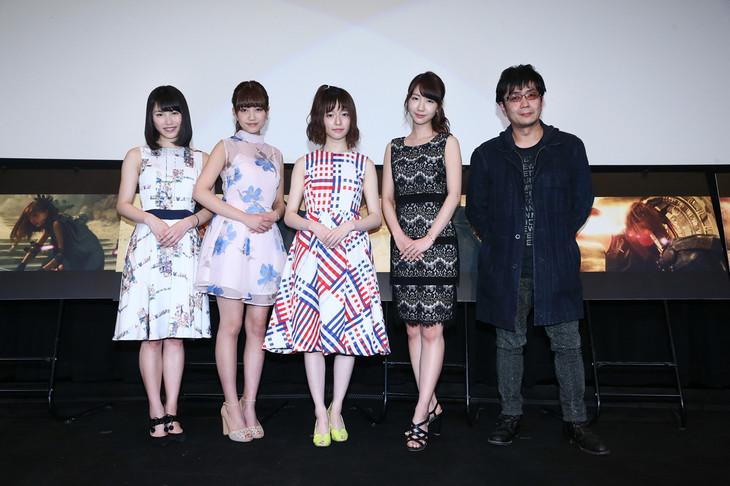 「AKB48 40thシングル「僕たちは戦わない」ミュージックビデオ完成披露試写会」の様子。 (c)AKS