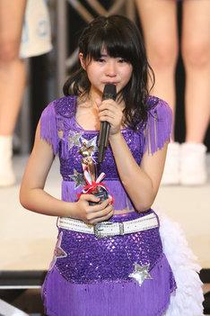 ベストパフォーマンス賞に選ばれた加賀楓。