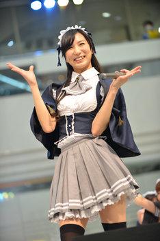 南千紗登(アイドルカレッジ)。写真はシングル「#常夏女子希望!!!」の発売記念イベント出演時の様子。
