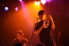 「ACOLOGIA~近藤晃央 MONTHLY ACOUSTIC LIVE~Vol.1」ライブの様子。 (写真提供:レプロエンタテインメント)