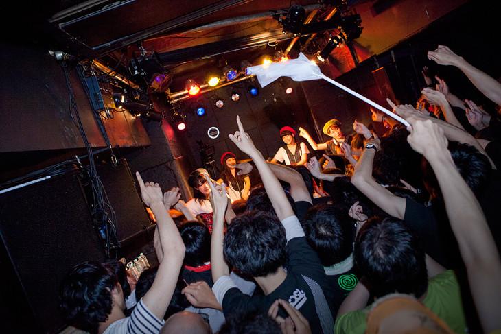 本日5月31日に東京・中野heavy sick ZEROにて行われた「THiS IS FOR BiS」の様子。(撮影:外林健太)