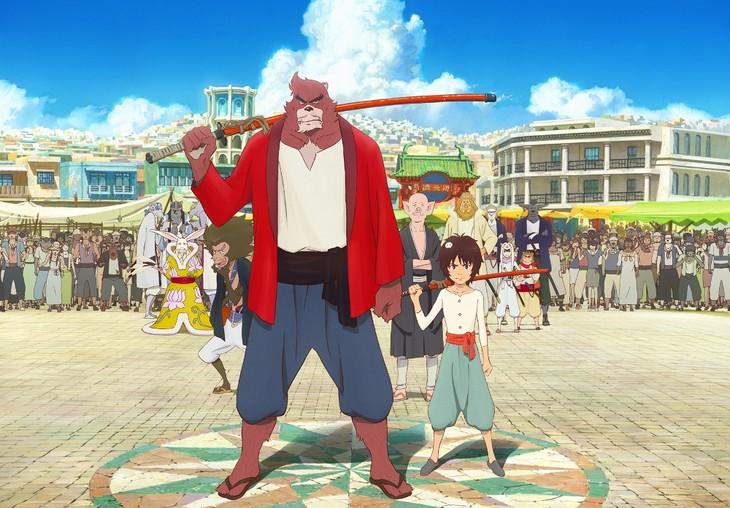 「バケモノの子」メインビジュアル (c)2015 THE BOY AND THE BEAST FILM PARTNERS