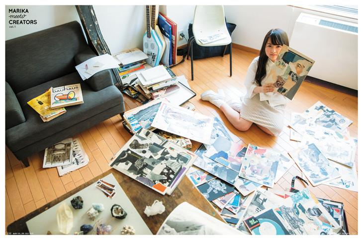 「伊藤万理華 MARIKA MEETS CREATORS」の画像検索結果