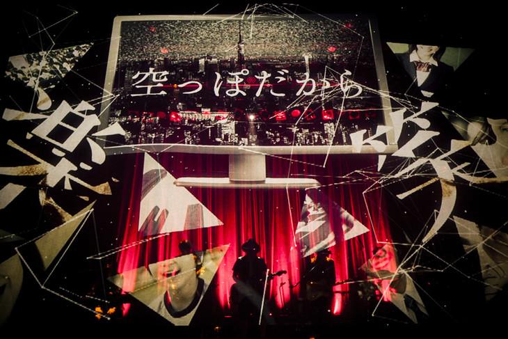amazarashi 5th anniversary live「APOLOGIES」WWW公演の様子。(提供:ソニー・ミュージックアソシエイテッドレコーズ)