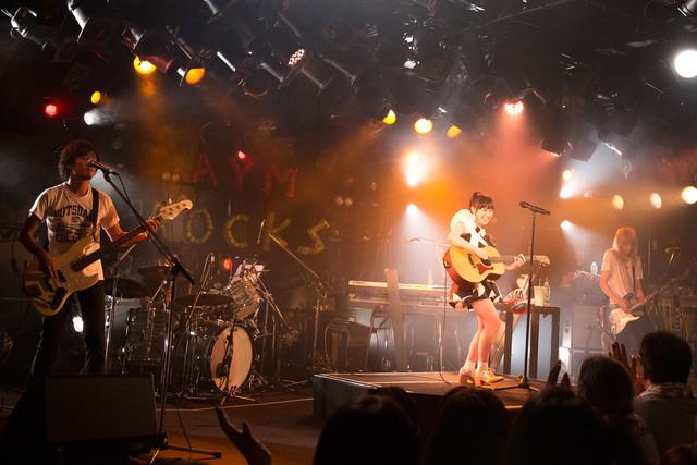 「A.Y.M. ROCKS~ROCKな夜~」の様子。(撮影:笹森健一)