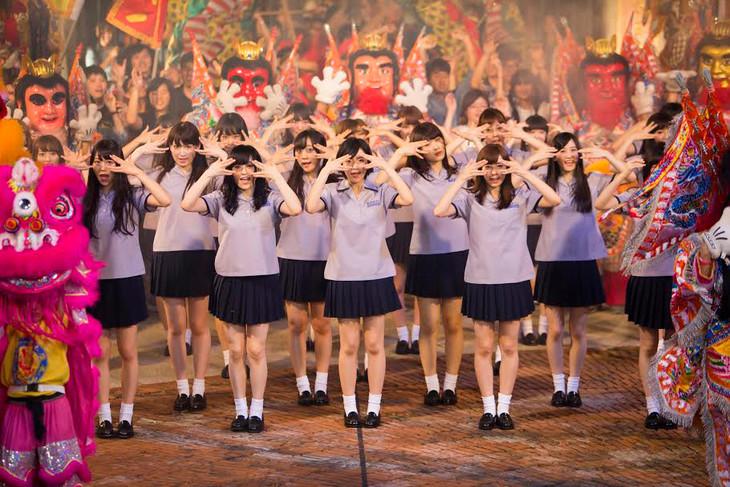 NMB48「ドリアン少年」MVでセン...