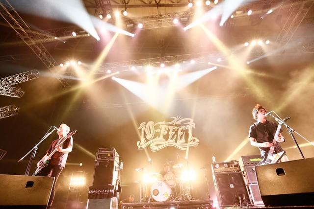 10-FEET(Photo by Tetsuya Yamakawa[showcase])