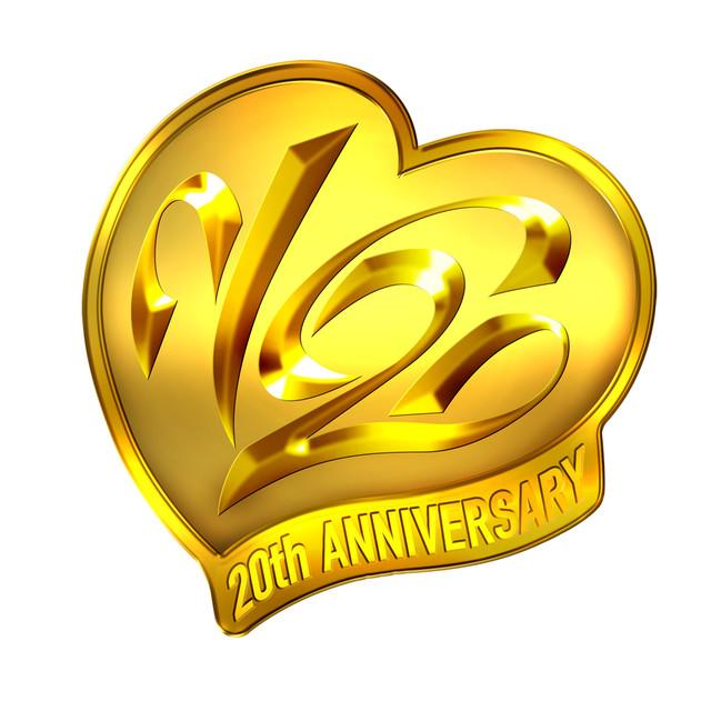 「V6 20th ANNIVERSARY」ロゴ