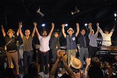 柴山一幸「New Album『YELLING』発売記念ワンマンライブ」の模様。