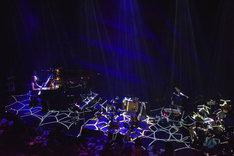 TK(凛として時雨)のライブの様子。(撮影:河本悠貴)