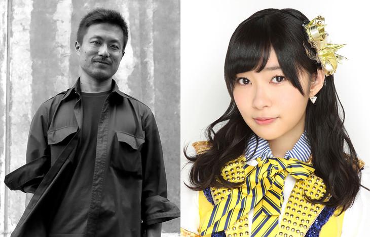左から「DOCUMENTARY of NMB48(仮)」の舩橋淳監督、「DOCUMENTARY of HKT48」の指原莉乃監督。(c)2016「DOCUMENTARY of NMB48」製作委員会 (c)2016「DOCUMENTARY of HKT48(仮)」製作委員会