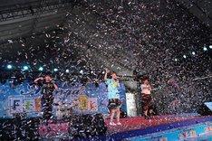 「Manga Festival 2015」でのゆるめるモ!(写真提供:YOU'LL RECORDS)