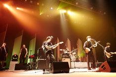 indigo la End「ナツヨのマジック」渋谷公会堂公演の様子。(撮影:井手康郎)