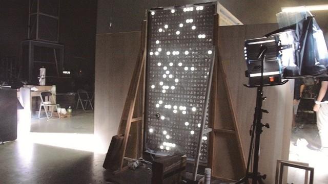 「スピードと摩擦」ミュージックビデオの撮影風景。