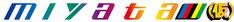 アップアップガールズ(仮)×ミヤタサイクルのコラボロゴ「miyata(仮)」。