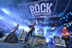 [Alexandros](写真提供:rockin'on japan)