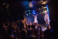 「グレートハンティングナイト VOL.74」出演時のふぇのたすのライブの様子。(撮影:逢坂憲吾)