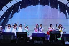 「SWEAT & TEARS」演奏時の様子。(Photo by Ayumi Fujita)