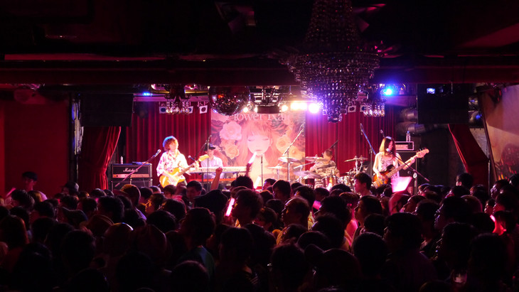 「『Flower Rail』YURiCa/花たん ShowCase Live」の様子。(写真提供:Subcul-rise Record)
