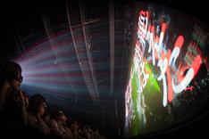 「amazarashi 5th anniversary live 3D edition」豊洲PIT公演の様子。(写真提供:ソニー・ミュージックアソシエイテッドレコーズ)