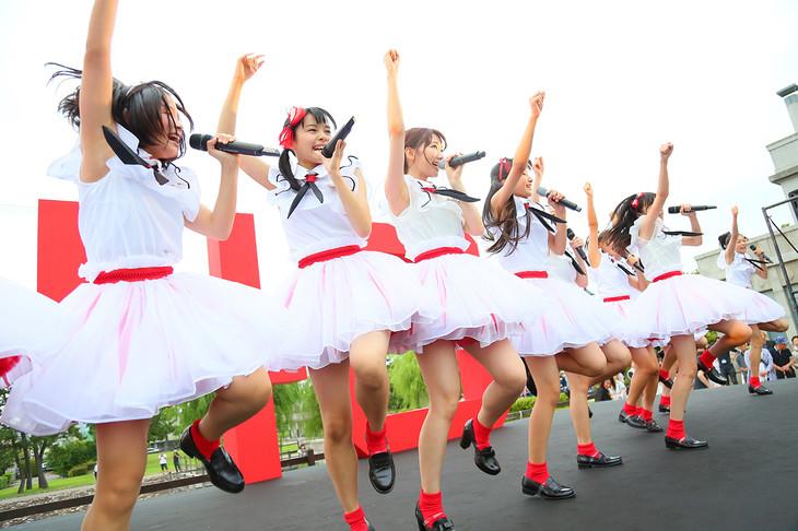 「NGT48 第1期生お披露目イベント」の様子。(c) AKS