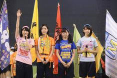 「第1回AKB48グループ大運動会」開会式の様子。 (c)AKS
