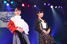 新メンバーのハシヤスメ・アツコ、リンリン。