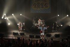 9月5日公演よりMONGOL800。 (写真提供:HIGH WAVE)
