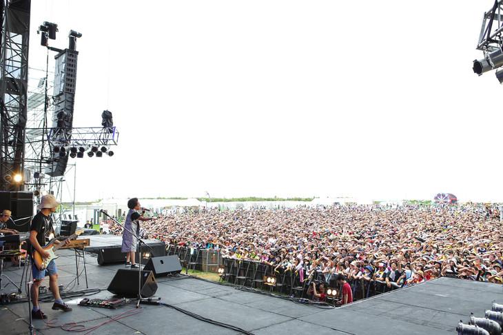 レキシのライブの様子。(撮影:渡邉一生)
