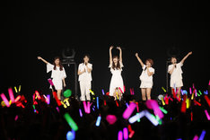 「℃-ute Cutie Circuit 2015 ~9月10日は℃-uteの日~」の様子。(写真提供:アップフロントエージェンシー)