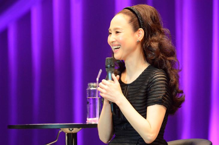 「Seiko Matsuda Fan Meeting 2015」の様子。(写真提供:EMI Records)