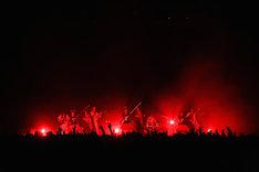 「BABYMETAL WORLD TOUR 2015 in JAPAN」Zepp DiverCity TOKYO公演2日目の様子。(Photo by Taku Fujii)