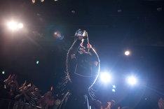 BELLRING少女ハートによるライブの様子。