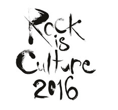 「Rock is Culture 2016」ロゴ