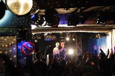 「『ザ・ベスト・オブ 藤井隆 AUDIO VISUAL』発売記念イベント@新宿LOFT」の様子。