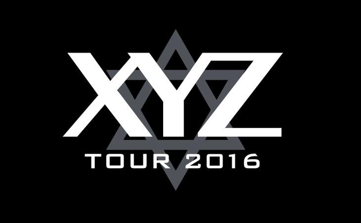 「XYZ TOUR 2016」ロゴ。
