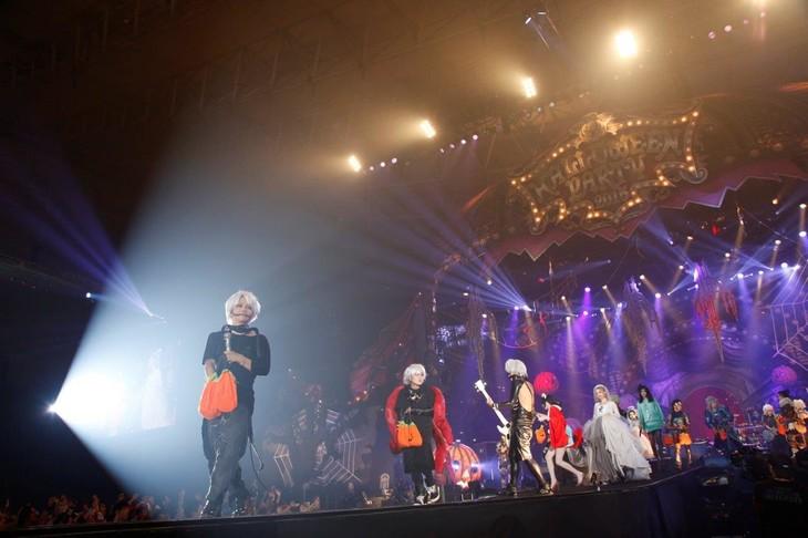 「HALLOWEEN PARTY 2015」10月23日の千葉・幕張メッセ公演の様子。