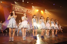 「乃木坂46 アンダーライブ 4thシーズン」の様子。 (c)乃木坂46 LLC
