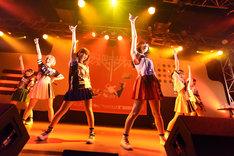 「妄想キャリブレーションLIVE TOUR2015~はじめてNIPPON▽ちゅYOUをちぇっくします!~」(▽はハートマーク)の様子。