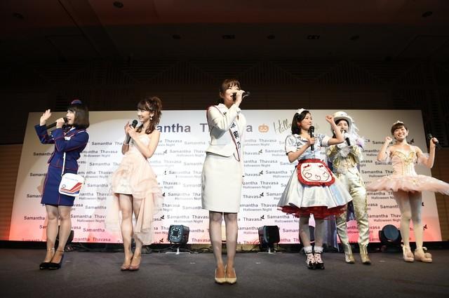 「Samantha Thavasa Presents ▼ HalloWeen Night」の様子。(c)AKS