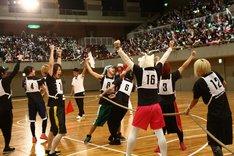 「EXIT TUNES ACADEMY UNDOKAI 2015 ~秋の大運動会~」の様子。(提供:EXIT TUNES)